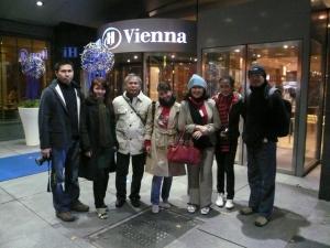 Biar ketauan kalo lagi di Vienna...hahaha....