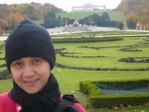 Masih di Taman Istana Schonbrunn