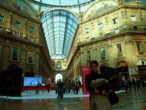 inside the Galleria