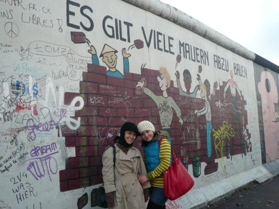 Berlin Wall. Tembok Berlin