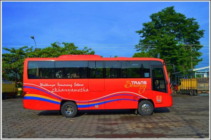 Trans Semarang Koridor II. Gambar diambil dari sini